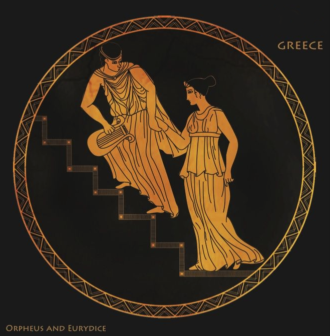 Orpheus and Eurydice Greek Image