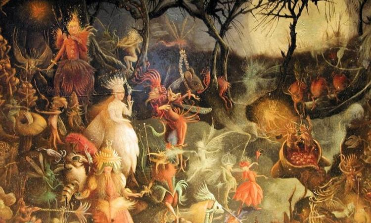 Photo: Samhain by John Anster Fitzgerald